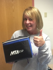 Congrats Carrie ! She chose the insulated lunch box. Remember second chance raffle for all who check out the site.